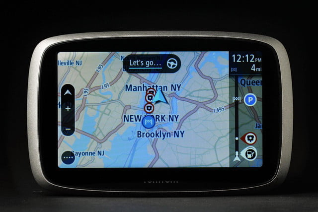 TomTom GO 500 front maps