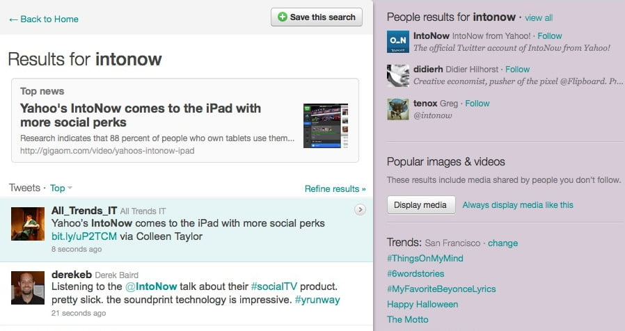 Twitter Tests 'Top News' And 'Top People' Search Function