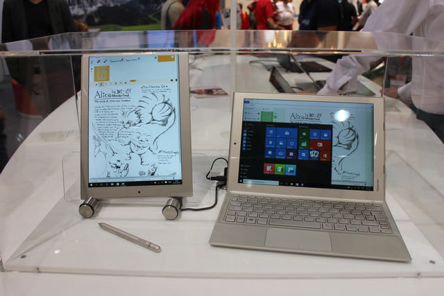 the new laptops of ifa 2015 toshiba dynabook 3