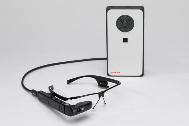toshiba announces dynaedge augmented reality ar smart glasses  2