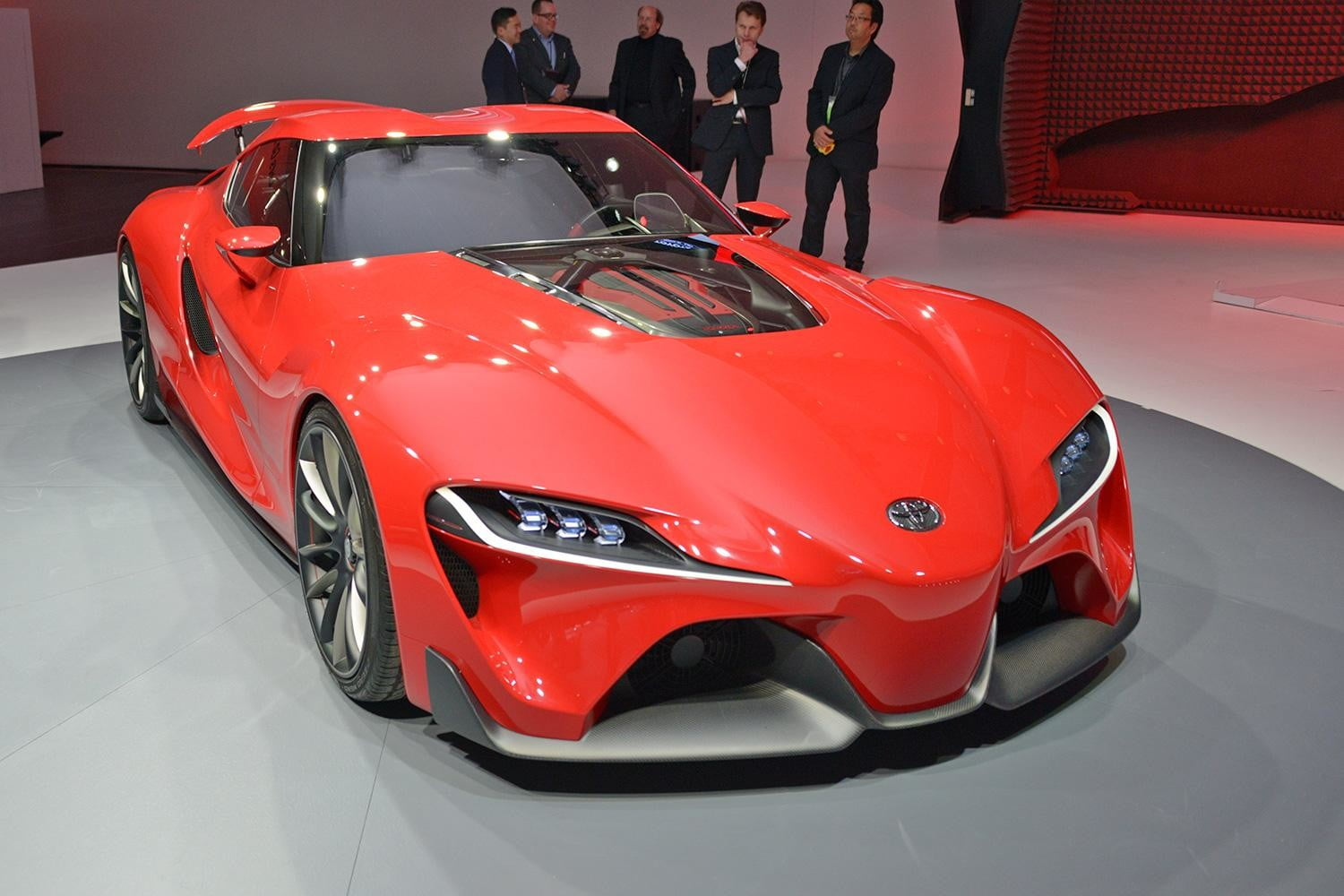 201? - [Toyota] Supra - Page 10 Toyota-ft-1-front-angle