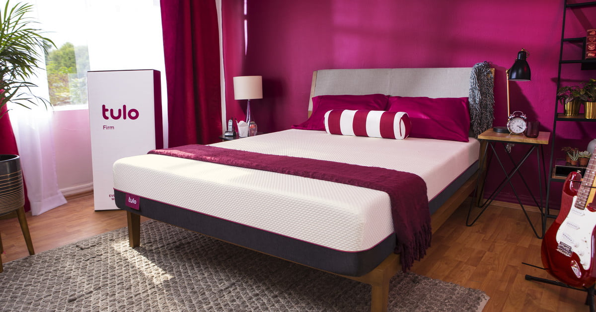 tulo is a new bed in a box brand from mattress firm digital trends. Black Bedroom Furniture Sets. Home Design Ideas