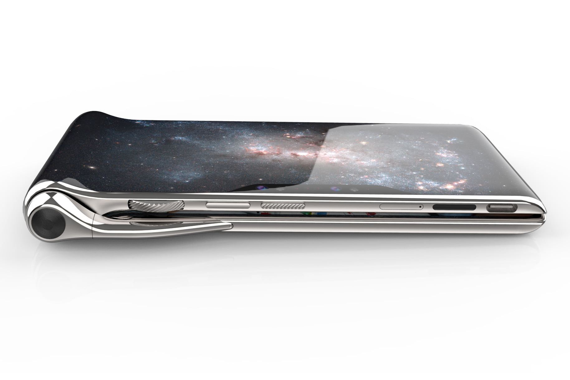 Turing's HubblePhone Looks Crazy, Costs $2,750, And Launches In 2020