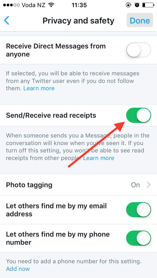 How to see if someone read an email