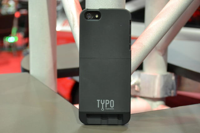Typo iPhone 5 case review rear