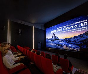 Samsung's 34- foot 'Onyx' LED screens could be the future of theaters