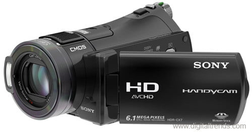 sony hdr cx7 review digital trends rh digitaltrends com Sony Full HD Camcorder Sony 4K Camcorder