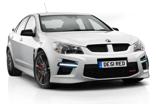 chevy sss british cousin vauxhall vxr8 gets 576 hp upgrade gts 1