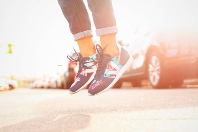 Veja sustainable sneakers - color print
