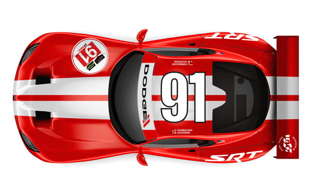 srt viper to wear old dodge racing livery again motorsports 1