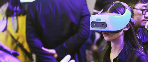 HTC's stand-alone Vive Focus Plus will be out in April, and it won't be cheap