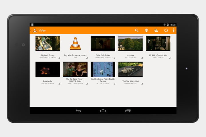 how to play movies on android tablet