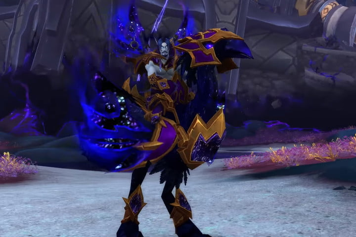 world of warcraft allied races guide void elf male mount