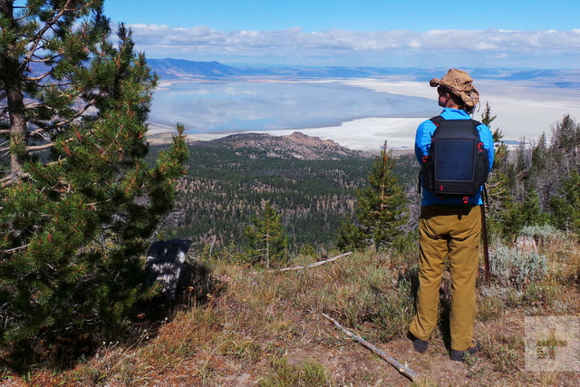 Voltaic OffGrid Solar backpack her offcenter