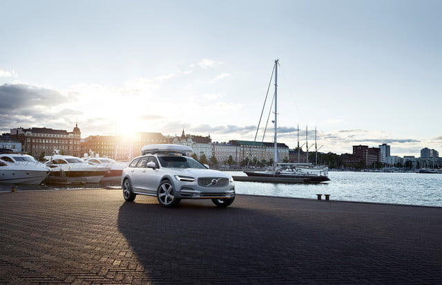 best wagons volvo v90 cross country ocean race exterior on location