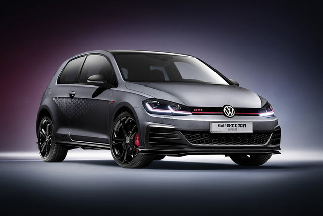 volkswagen gti tcr concept previews 290 horsepower hot hatch vw 1