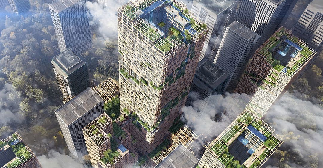 Tokyo Is Planning To Build The World S Tallest Wooden