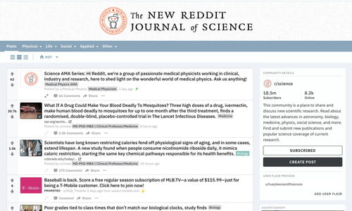 Reddit Redesign Adds Endless Scroll, Post Editor, Multiple View