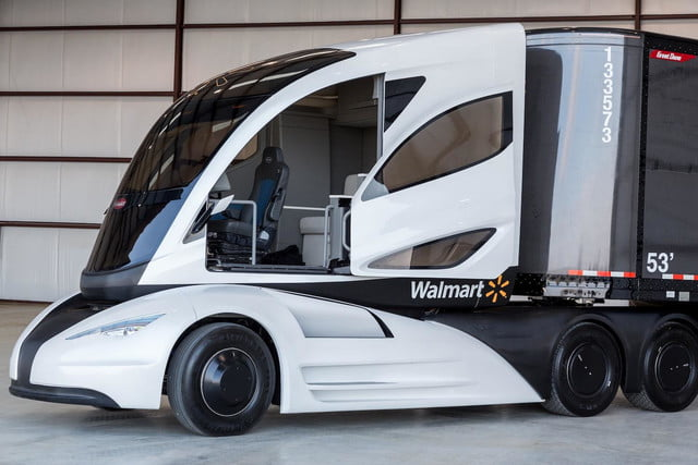 walmart isnt messing around grocery business just take look wave advanced vehicle experience