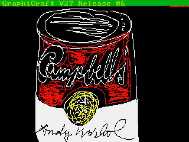 lost computer art of andy warhol discovered image 2