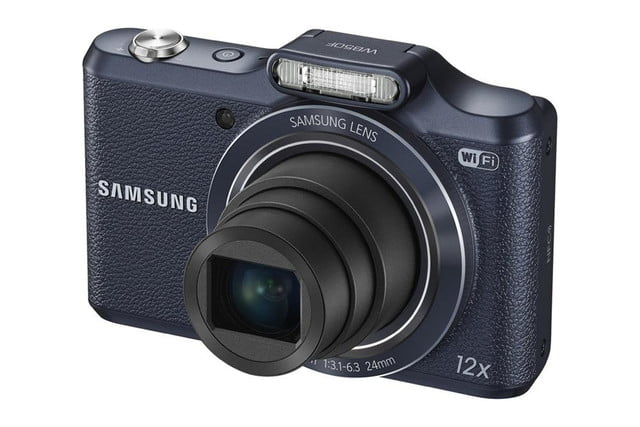 samsung ces 2014 point and shoot cameras wb50f 004 right angle navy