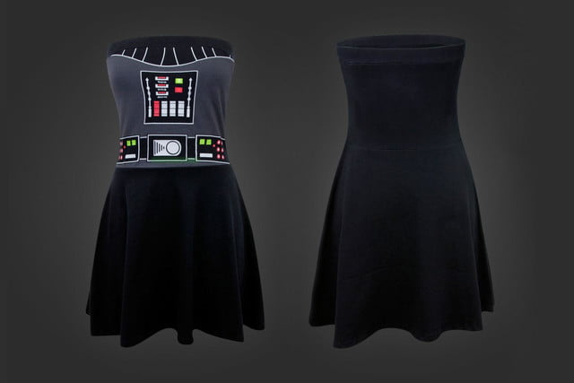 WeLoveFine Darth Vader Tube Dress