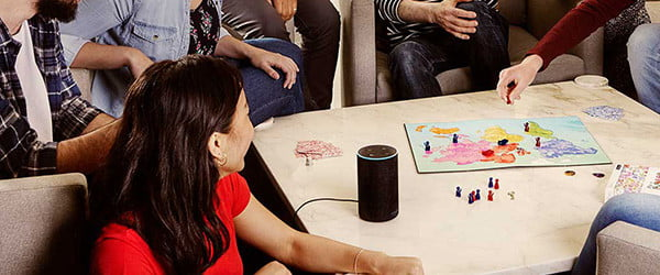 'When In Rome' is a board game you play with Alexa, when she wants to cooperate