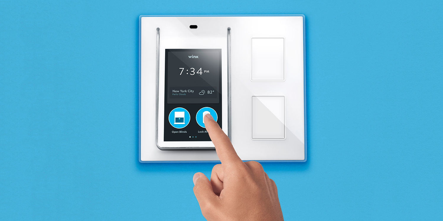 Winks Relay Light Switch Works With Uber Fitbit And Ifttt Electronic Brick Digital Trends