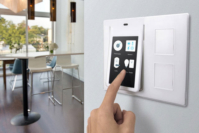 winks relay light switch works with uber fitbit and ifttt wink touchscreen controller 004