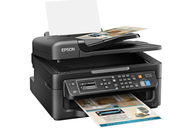 epson lowers price precisioncore inkjet tech new multifunction units workforce wf 2630 right angle