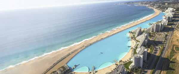 Imagine yourself doing a cannonball in one of the 11 largest pools in the world