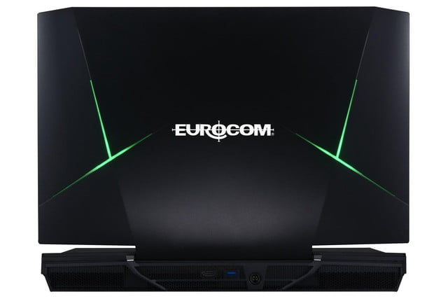 eurocoms x9 is the latest laptop with desktop hardware back