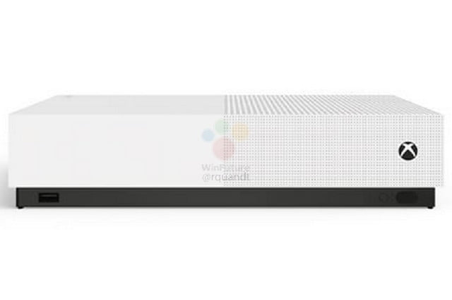 xbox one s all digital edition design price leaked 2