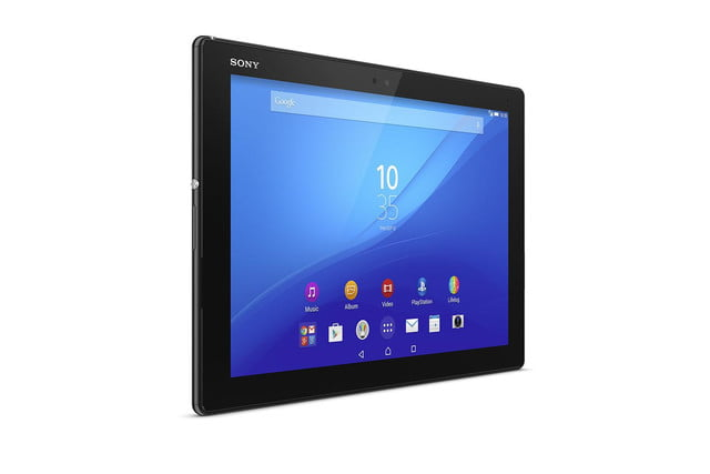 Xperia Z4 Tablet front angle 2