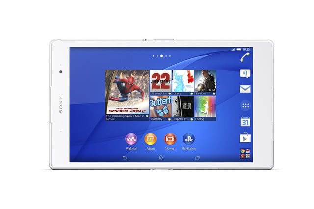 sony xperia z3 tablet compact ifa 2014 white