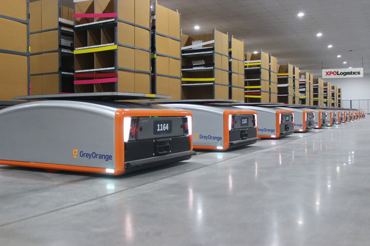 xpo logistics will add 5000 smart robots to help speed up deliveries robot deployment