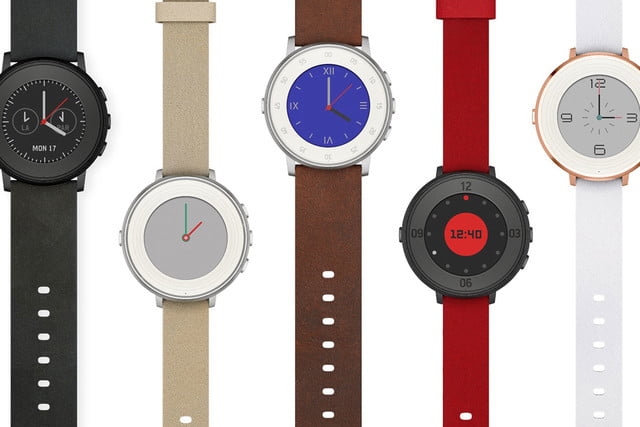 pebble time round smartwatch unveiled xqsbngy