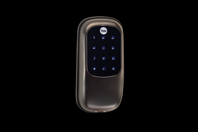 yale real living touchscreen deadbolt yrd240 key free us10bp