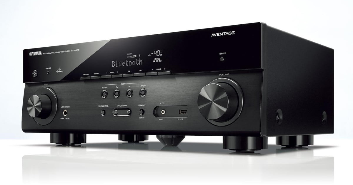 yamaha 39 s new aventage receivers pack dolby atmos dts x. Black Bedroom Furniture Sets. Home Design Ideas