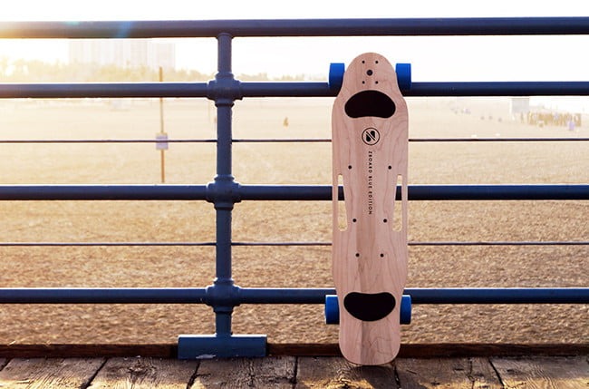 ZBoard 2 Blue, electric skateboard