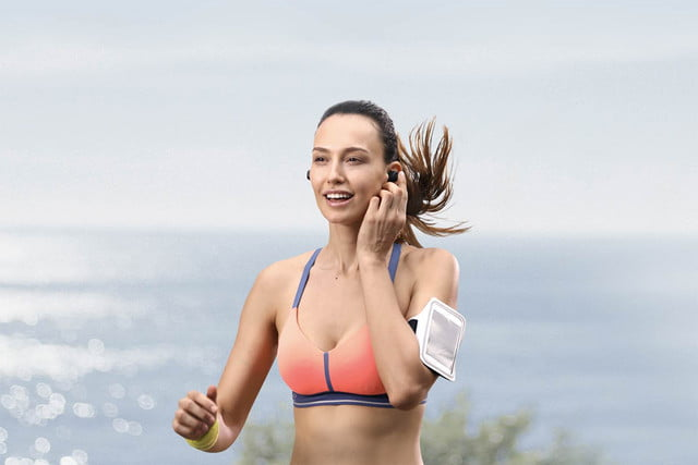 Runner using Zolo Liberty+: The First Zero-Compromise Total-Wireless Earphones