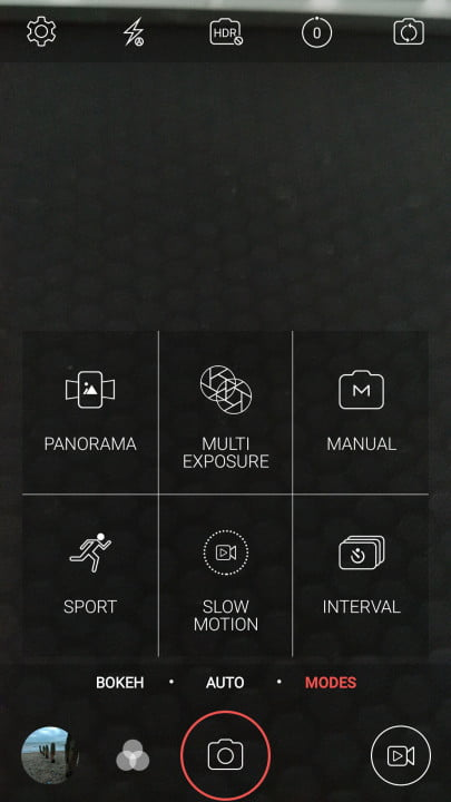ZTE Axon Elite Screenshot